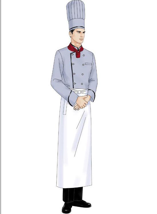 青岛哪里定做酒店厨师服?