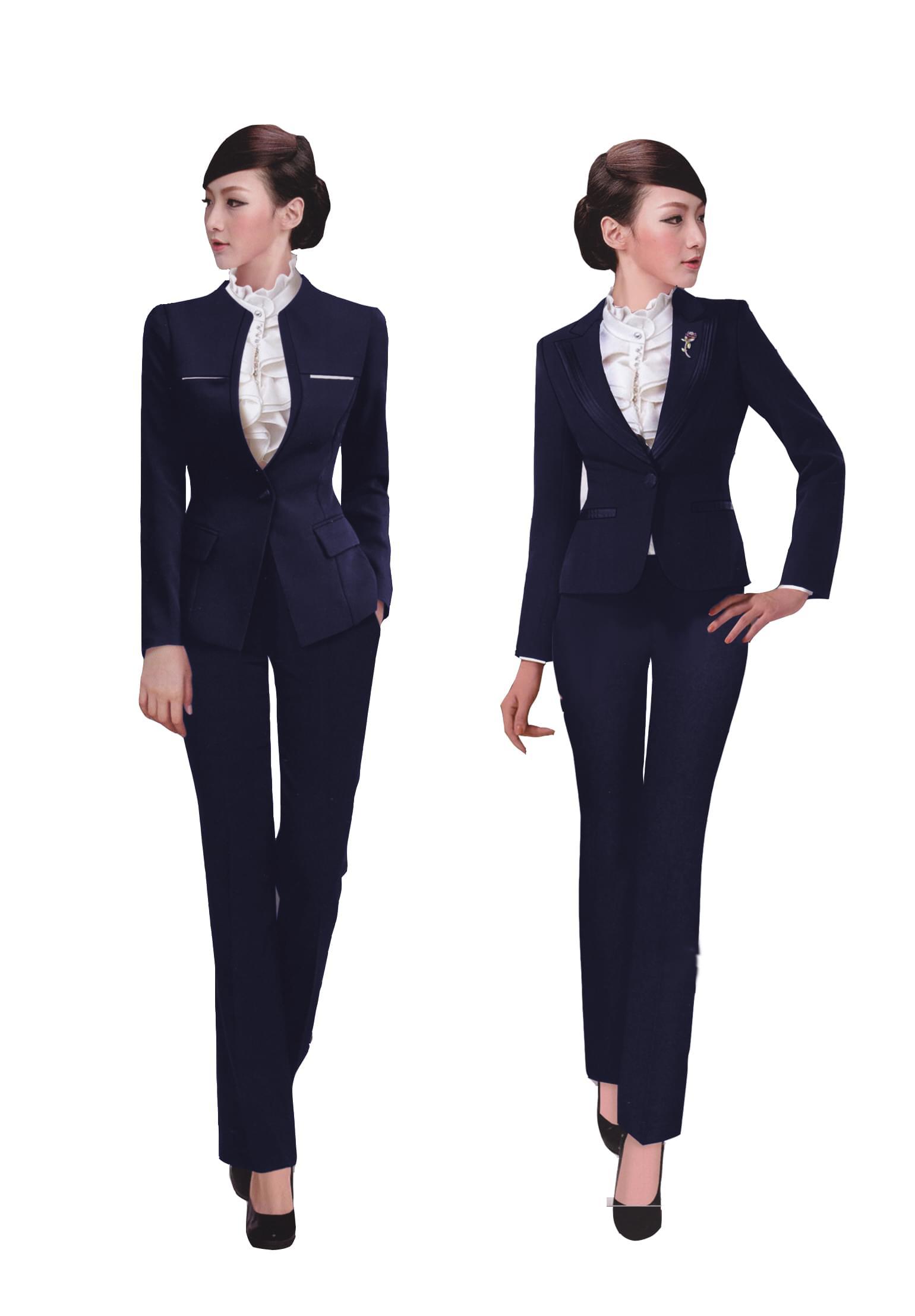 女士职业装工作服不同的季节要选对款式