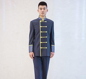 中式唐装保安服务员工作服