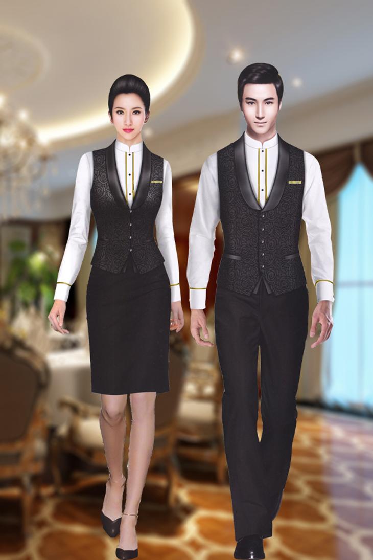 服务员服|五星级酒店 |韵蔓服装|企业工服一站式采购