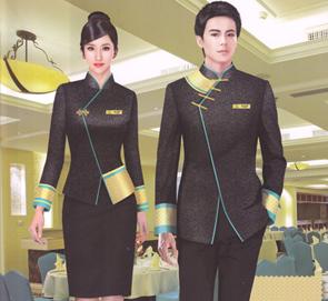 中式酒店服务员服