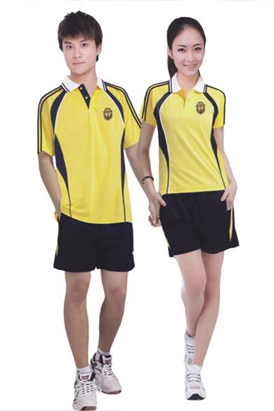 夏季运动服校服