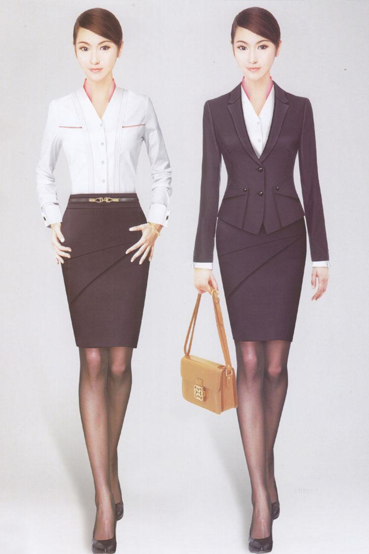 首页 产品中心  商品编号xz 商品颜色灰蓝色 商品名称女士西服套装 款