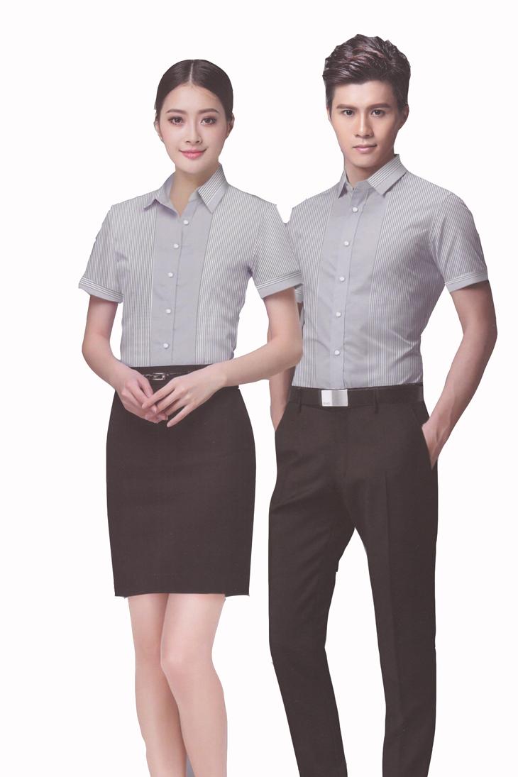 衬衣制服设计图