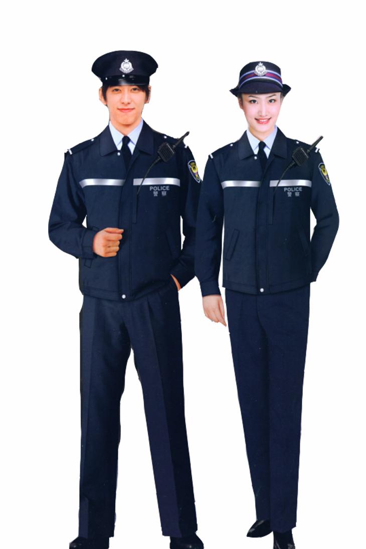 定做保安制服-青岛韵蔓标志服定做