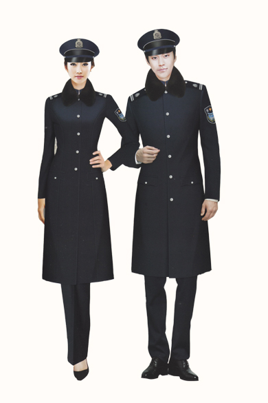 冬季保安服